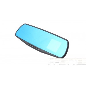 "2.4"" LCD 1080p Rearview Mirror Car DVR Camcorder"