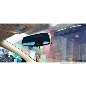 "4.3"" TFT 1080p FHD Rearview Mirror Car DVR Camcorder"