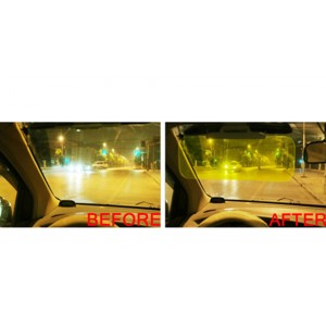 Anti-Glare HD Day&Night Car Sun Visor Flip-down Shield