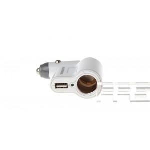 Blackhorns USB Car Cigarette Lighter Charger Adapter