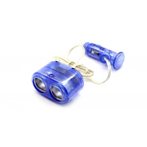 1-to-2 Sockets Car Cigarette Lighter