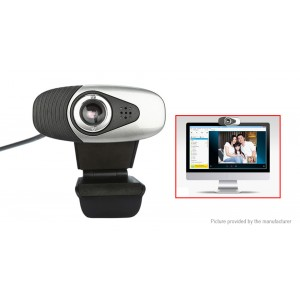 A871 1.2MP Clip-on USB HD Webcam Network Camera