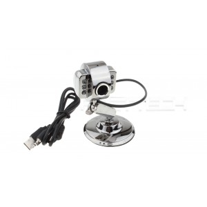 5MP CMOS Webcam w/ Microphone