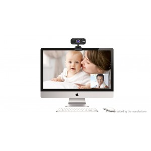 1MP Clip-on USB HD Webcam Network Camera