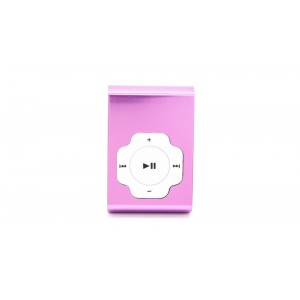 USB Rechargeable Mini MP3 Player w/ microSD Card Slot