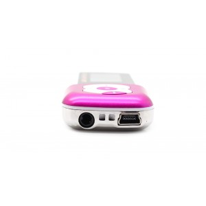"1.1"" OLED Screen MP3 Music Player with TF Card Slot / Speaker (Peach)"