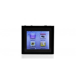"""8GB 1.6"""" TFT Sensitive-touch Screen MP4 Player w/ Clip"""