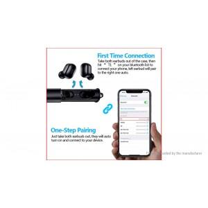 T1 Mini Portable Bluetooth V5.0 TWS Stereo Earbuds Headset
